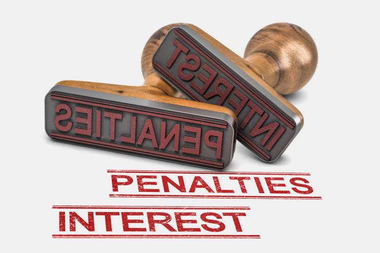 penalties tax return